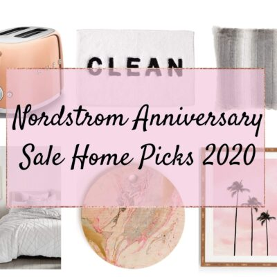 2020 Nordstrom Anniversary Sale Home