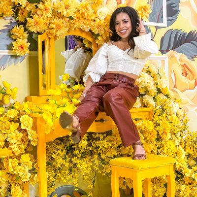 The Floral Escape: A Flowery Dream at the Garden State Mall in NJ