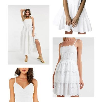 The Best White Dresses to Wear for Summer