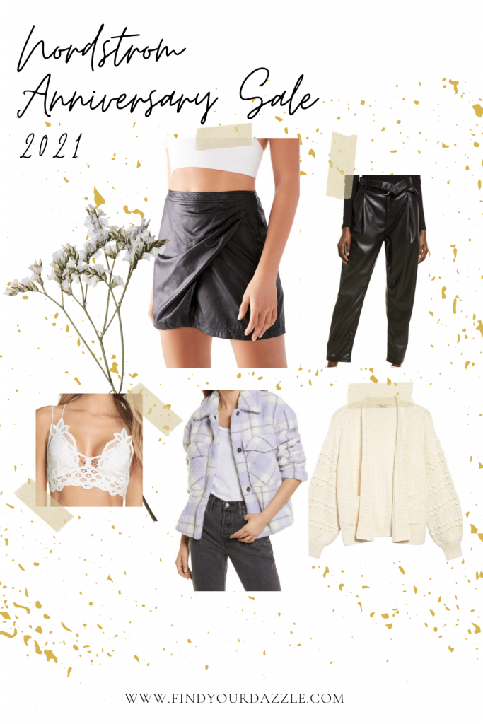 Collage of women's outfits from the Nordstrom Anniversary Sale